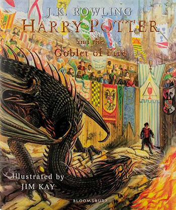 Harry Potter and the Goblet of Fire (Ill Harry Potter and the Goblet of Fire (Illustrated Edition Book 4) (رمان مصور هری پاتر و جام آتش)