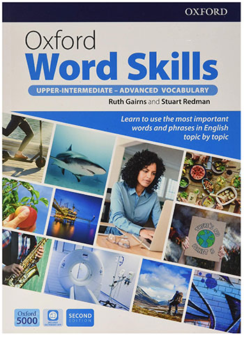 بیشترین تخفیف کتاب OXFORD WORD SKILLS Upper Intermediate Advanced Second Edition