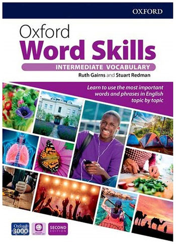 بیشترین تخفیف کتاب Oxford Word Skills Intermediate Second Edition