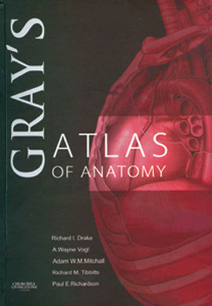 Gray's Atlas of Anatomy  مولف : درک